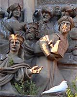 Détail de la Porte du Pardon, cathédrale de Seville. Par Benide