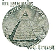 In Google we trust. Google-dollar. Par Benide